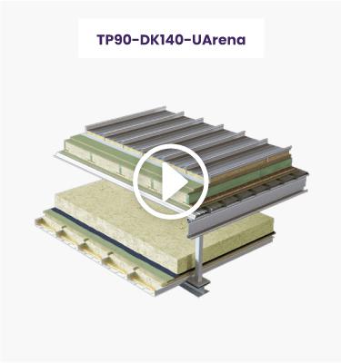 Système Phonotech pour Arenas : Principes constructifs TP90-DK140